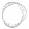 Beadalon Memwire Bracelet 0.35oz Large Oval Plated Silver
